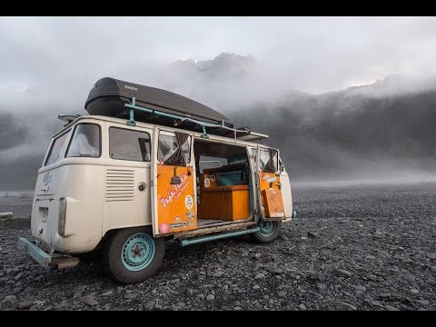 Full Tour ~ VW Bus Motorhome Driven From Brazil To Alaska ~ Kombi Life