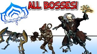 All Assassination Bosses in Warframe - GUIDE!