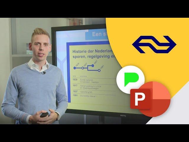 Briljante NS bedrijfspresentatie in PowerPoint! | Portfolio | PPT Solutions