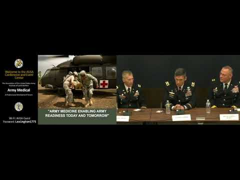 Maj. Gen. Caravalho and COL Czarnik on Hot Medical Issues
