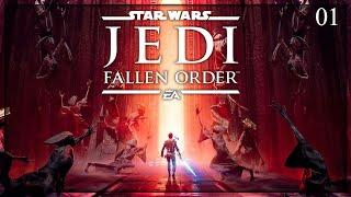 [ PREMIERA ]  Star Wars Jedi: Fallen Order #01 | Młody Padawan!