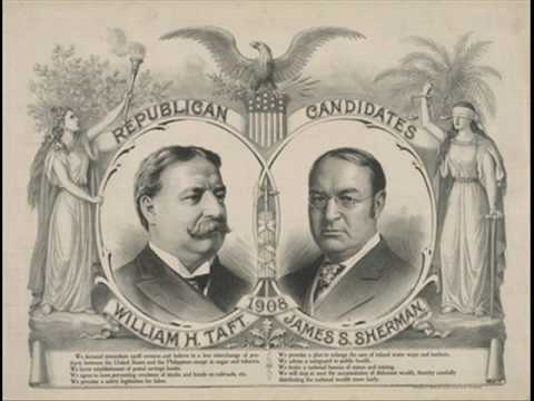 W.H. Taft 1908 Phonograph Recording Favoring Postal Savings
