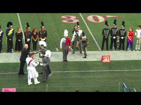 2016 Sierra Cup Classic - The Buchanan High School Band & Color Guard