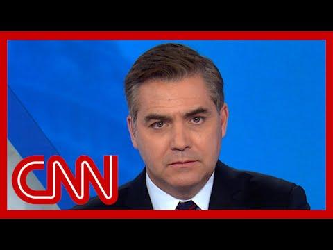 Acosta chokes up reflecting on 9/11