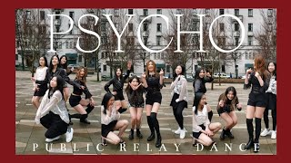 [AdoReMi] RED VELVET (레드벨벳) - PSYCHO (K-POP IN PUBLIC RELAY …