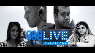 Welcome to Barcelona for 888poker Live!