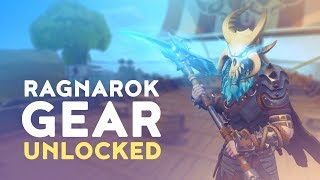 RAGNAROK GEAR UNLOCKED - SOLO vs. SQUAD! (Fortnite Battle Royale)