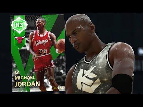 MICHAEL JORDAN CRAZY GAMEPLAY!! OPENING NIGHT COLLECTION! (NBA 2K18 MYTEAM)