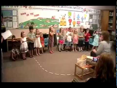 Centerville Lillipop Lane Preschoolers Perform 3 Little Ducks