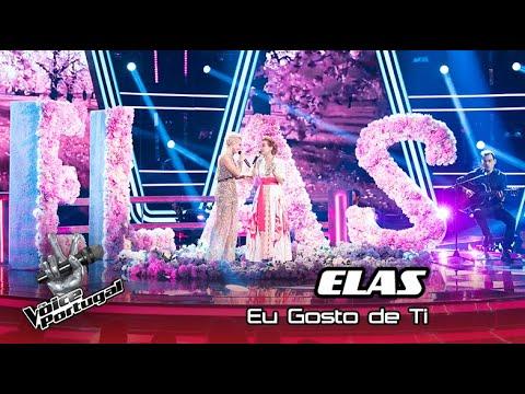 """Elas  - """"Eu Gosto De Ti""""   The Voice Portugal"""