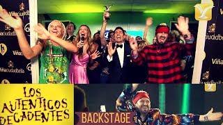 Los Auténticos Decadentes - Backstage - Festival de Viña del Mar 2017 HD 1080p