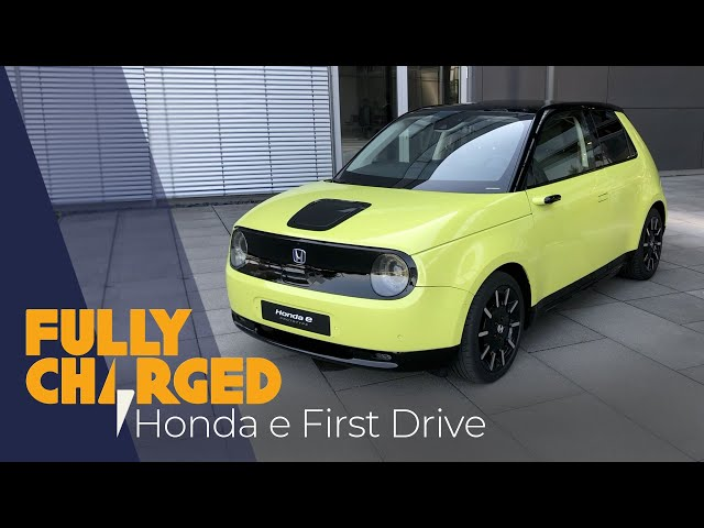 Honda e First Drive | Fully Charged