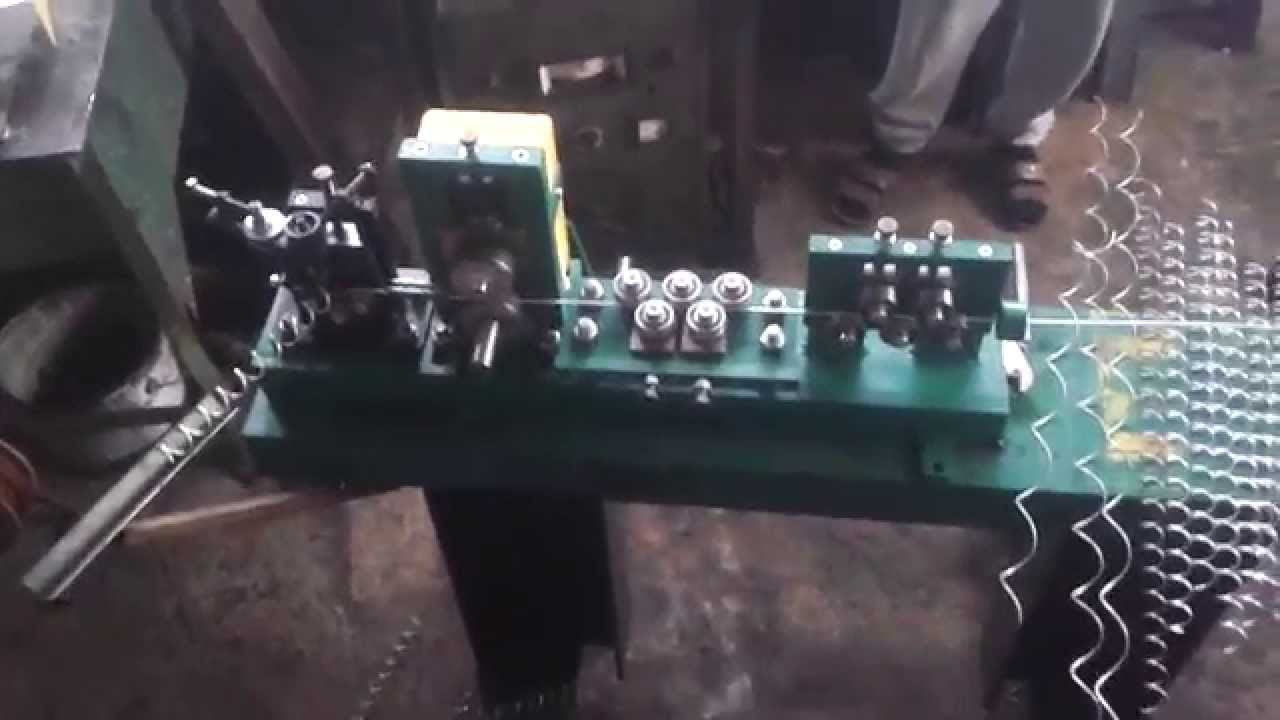 Wire Straightener Manual Spiral Machine Gabions Spring