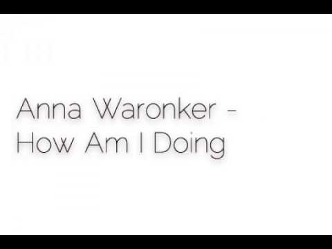 Anna Waronker - How Am I Doing
