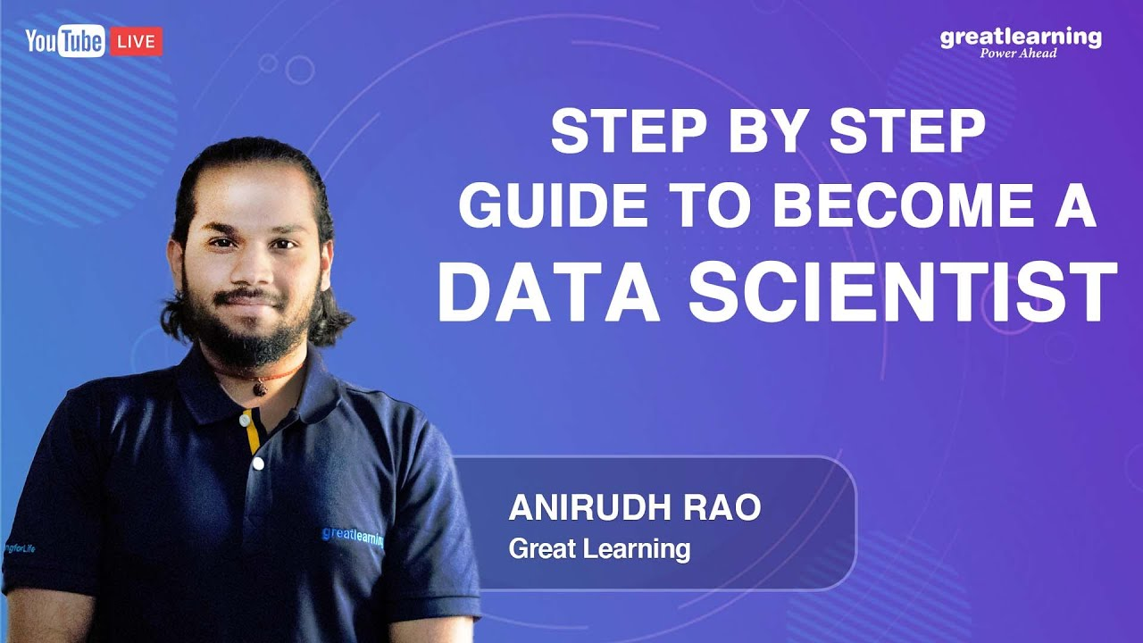 Step by Step Guide to Become a Data Scientist | Data Science for Beginners
