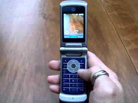 Motorola KRZR K1 - Démonstration, prise en main et test