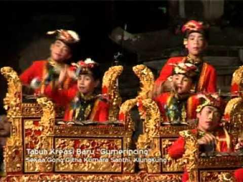 Gong kebyar anak anak Nusa Penida