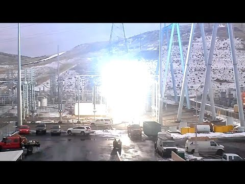 Sparks Fly as BPA Tests New Equipment at Celilo Converter Station