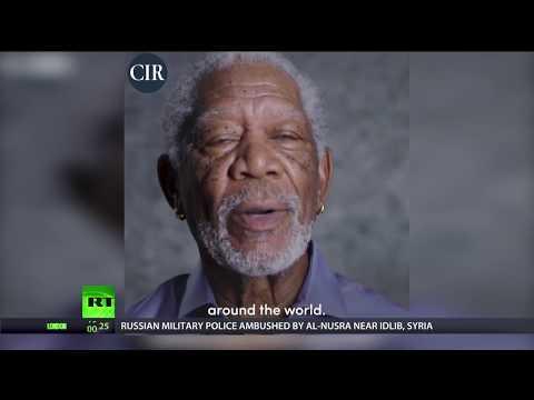 Morgan Freeman's moment: just like a movie script
