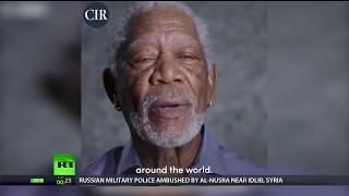 Morgan Freemans moment: just like a movie script