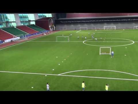 Khalifa Stadium Indoor -new ASI field at Aspire Qatar Indoor