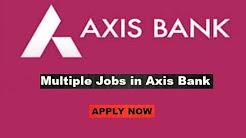 jobs at axis bank
