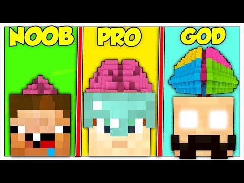 CERVELLO NOOB CONTRO PRO CONTRO GOD! - Minecraft ITA