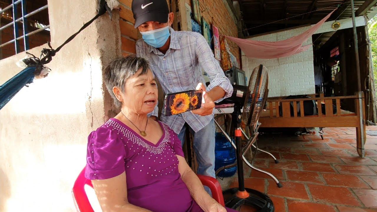 Thăm Bà Ba 84 tuổi lo Cô Sen bệnh tâm thần