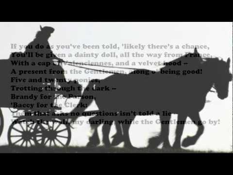 Smuggler's Song by Rudyard Kipling (read by Tom O'Bedlam)
