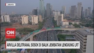 Ini Sosok Insinyur Perancang Jembatan Lengkung LRT Terpanjang di Dunia