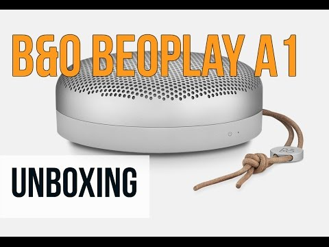 B&O Beoplay A1 Portable Bluetooth Speaker Unboxing | Digit.in