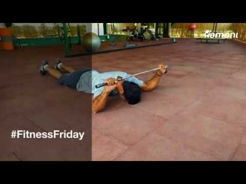 #FitnessFriday- Scapular Muscle Strengthening