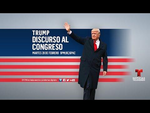 EN VIVO: Discurso de Donald Trump al congreso (español)