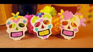 DIY. Como hacer Calaveras y flores de papel