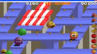 Pac Man Collection Gameplay Pac Mania Part 4