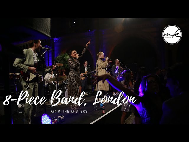 8 Piece Party Band Live