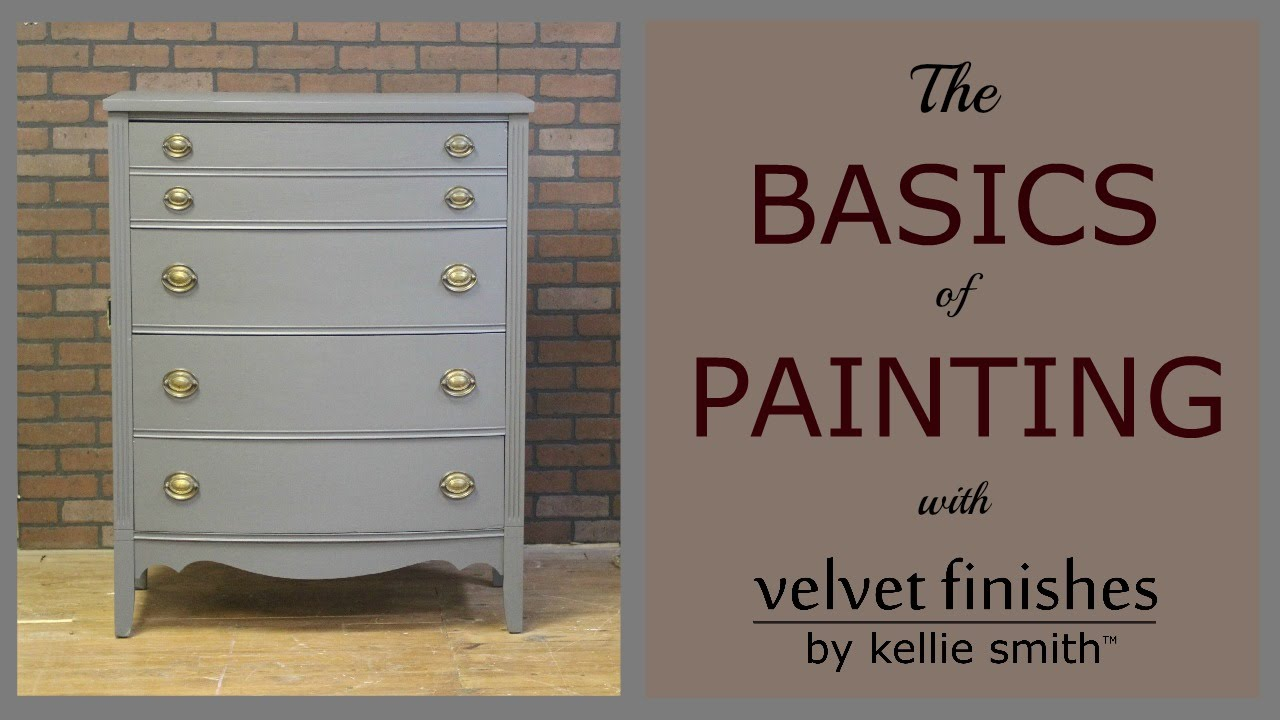 How To Paint Furniture With Velvet Finishes