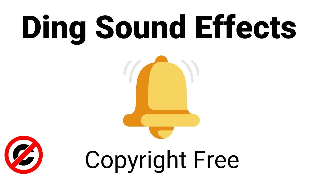 Ding Sound Effects (Copyright Free)