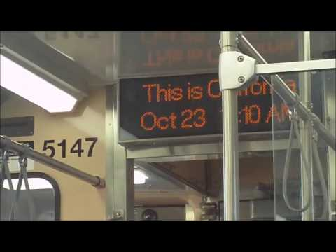 CTA Pink Line train from Washington/Wells station (Downtown Loop) to 54th/Cermak term. 2 (10-23-16)