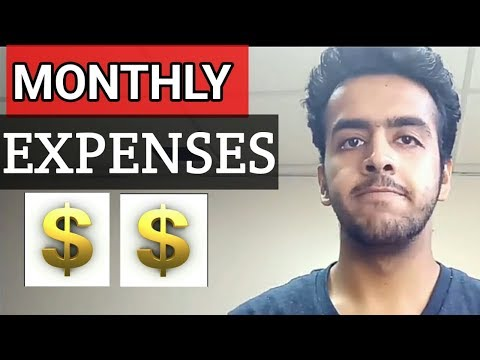 Student Monthly Expenses In Canada | Can You Cover Your Living Expenses By Working Part-time ?