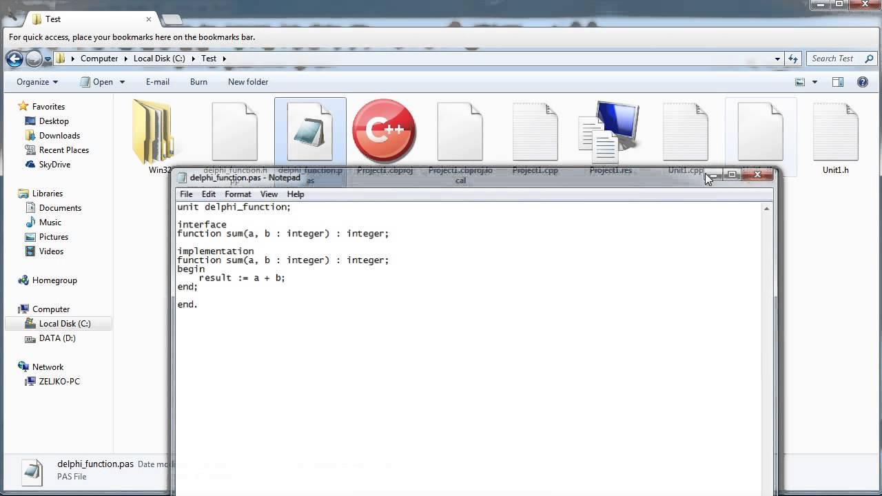 C++ Builder - Using Delphi source code