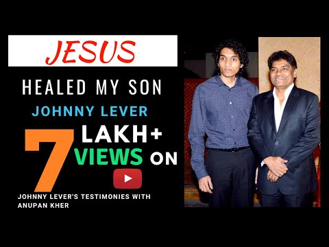 Johnny lever sharing his testimony - How GOD healed his Son, Rakesh Roshan, Hrithik Roshan etc..