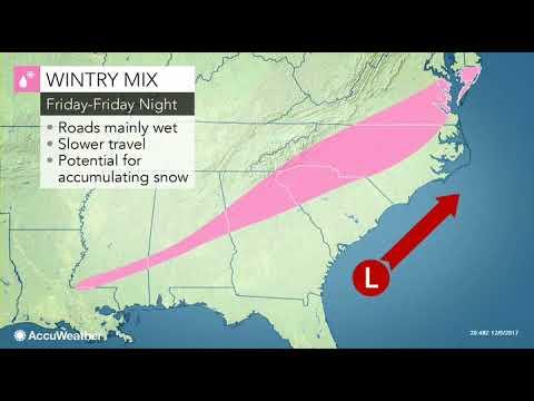 ASMR Weather forecast Thursday DEC 7/ Storm Caroline 116 mph winds