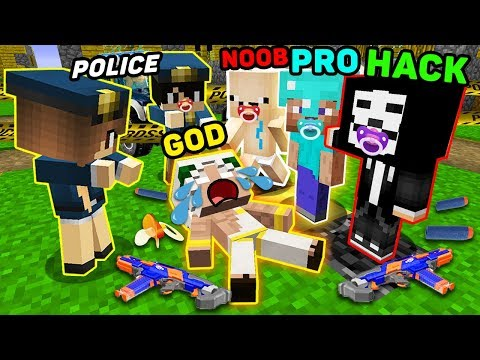 Minecraft NOOB vs PRO vs HACKER vs GOD : BABY INVESTIGATION CHALLENGE IN MINECRAFT!