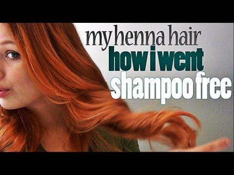 My Henna Hair How I Went Shampoo Free Youtube