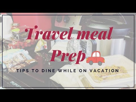Roadtrip Meal prep - Indian Vegetarian meal ideas - Travelling with instant pot