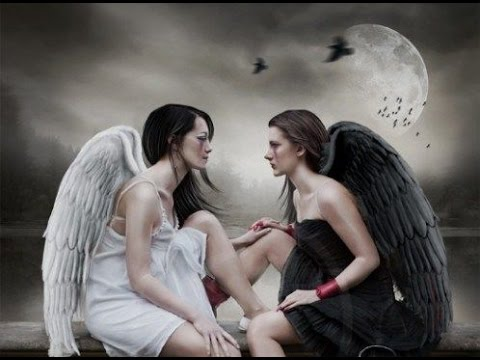 Good Angel Vs. Bad Angel - YouTube