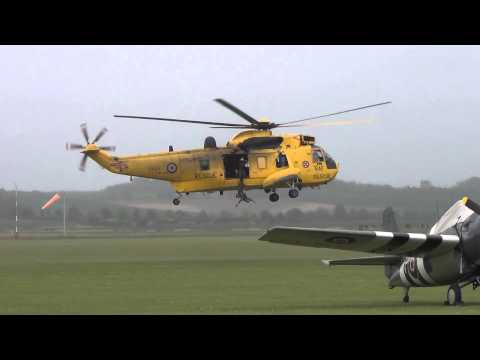 Westland Seaking at Duxford, its final year.