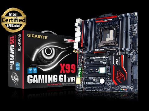 GIGABYTE GA-X99-Gaming G1 WIFI Unboxing | Indonesia