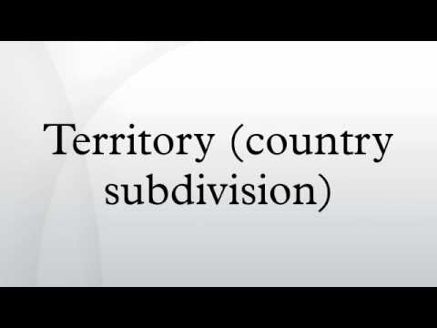Territory (country subdivision)